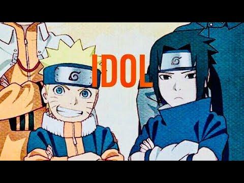 Naruto AMV-BTS (IDOL) Featuring Nicki Minaj