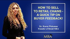 How to Sell a Product to a Chain Store - Quick Tip on Buyer Behavior and Reviews!
