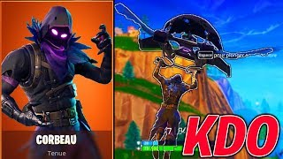 THE CORBEAU SKIN IS MAGNIFIQUE AND I OFFER ON FORTNITE !!!