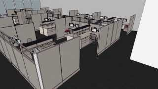 Kentwood Office Furniture Design & Space Planning: Fly-through