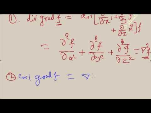 GATE Engineering Mathematics- grad, curl, div, combined relations part-11