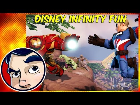 I Played Disney Infinity With Markiplier, CaptainSparklez, Dodger, Strippin and more?!