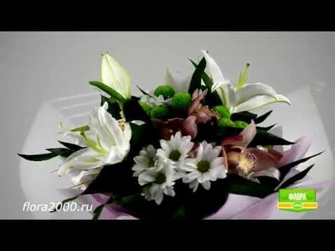 """Букет """"Каравелла"""" от Flower-shop.ruиз YouTube · Длительность: 57 с  · Просмотры: более 7.000 · отправлено: 20.11.2010 · кем отправлено: Flower-shop.ru"""