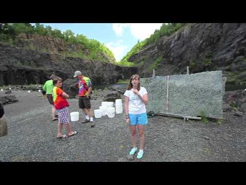 Rockhounding for Garnets at Barton Mine in Adirondack Park, New York