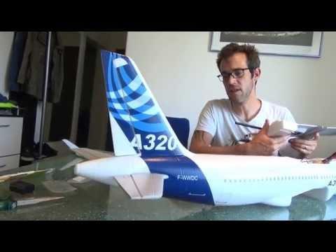 Rc Airbus A-320 Surprise Hobby Aufbau und Einstellungs Video