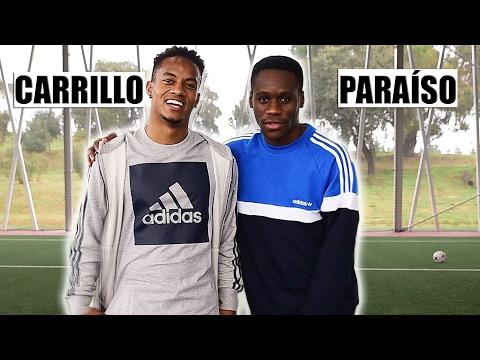 CARRILLO VS MIGUEL PARAÍSO |BOLA NA BARRA| CROSSBAR CHALLENGE