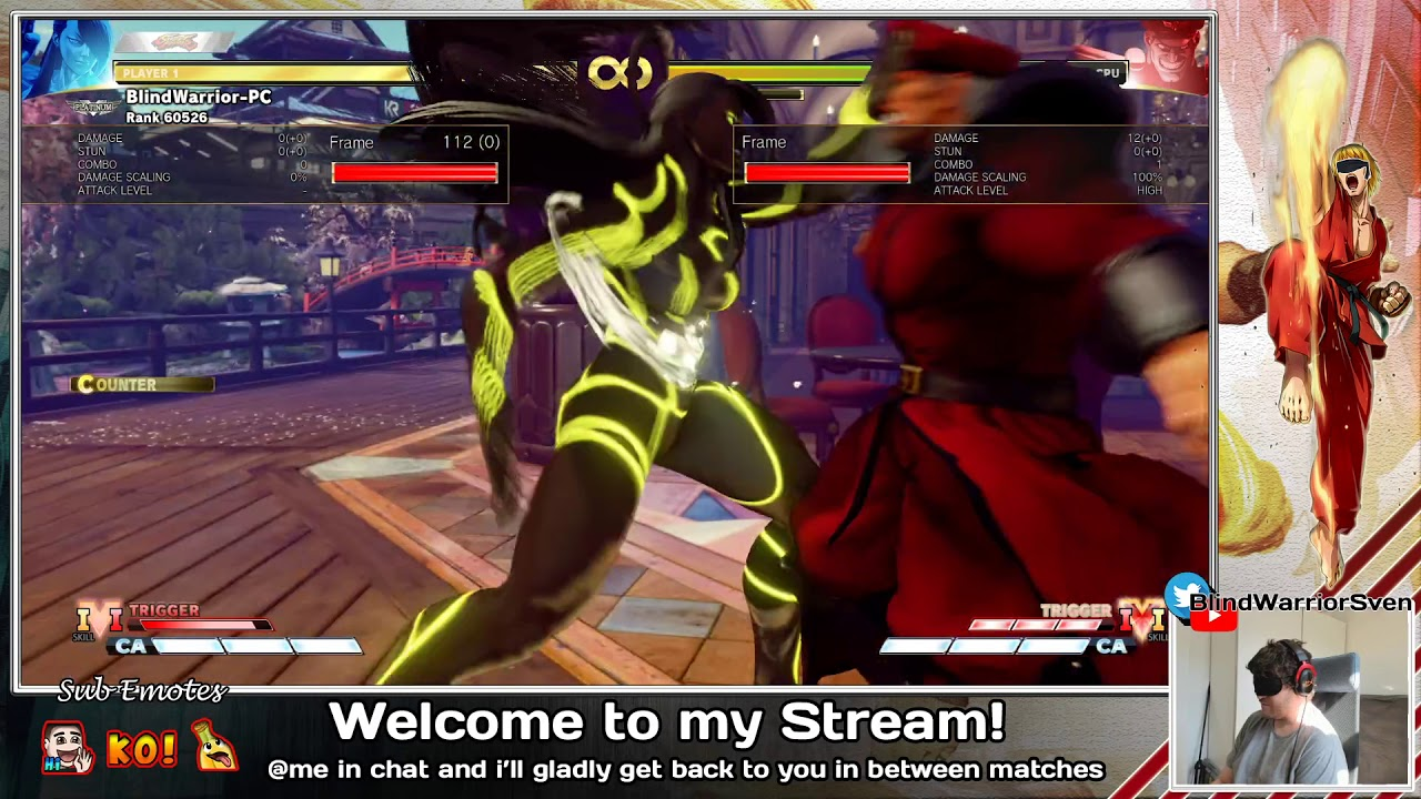 Streetfighter Stream