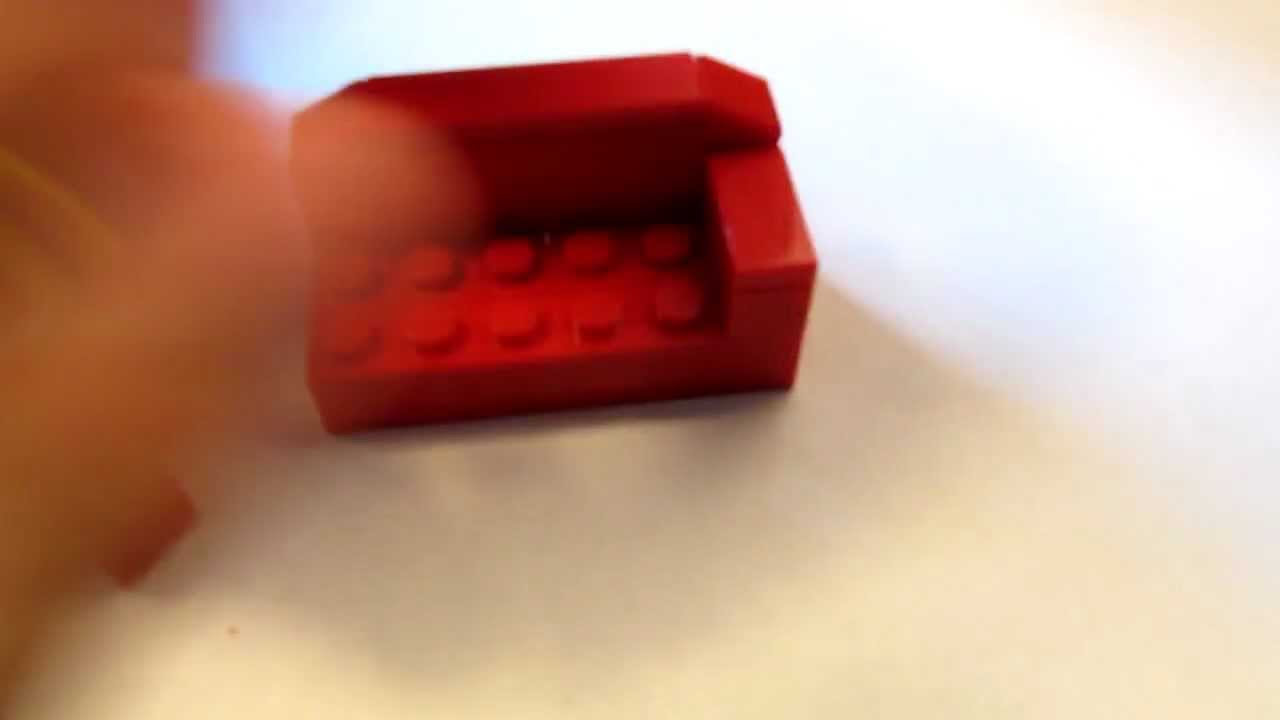 Kautsch Sofa Lego Tutorial How To Build A Couch