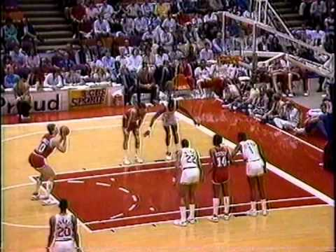 Philadelphia 76ers vs Houston Rockets, March 1, 1987