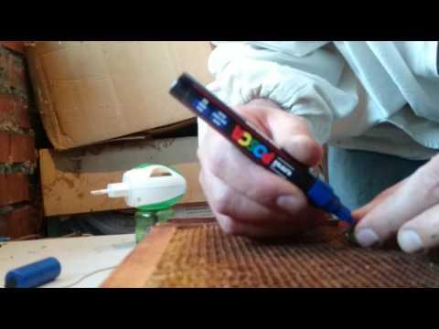 как метить маток маркером