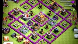Clash Of Clans Base Review#2(JD tha 1)