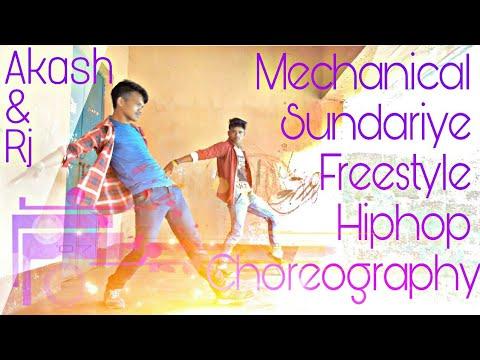 2.0 Robot | Mechanical Sundariye Freestyle Hiphop | Choreography and Performing by @Rj with @Akash |