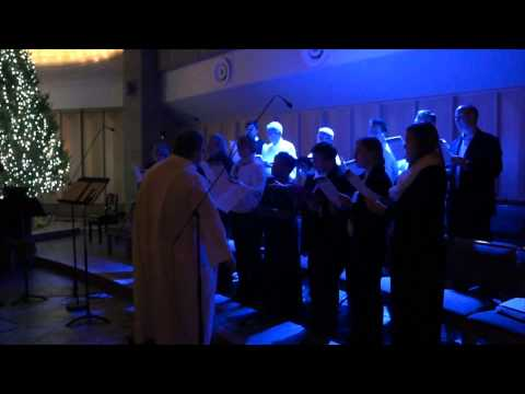"""""""Reflection""""   Midnight Mass at Holy Family Cathedral"""