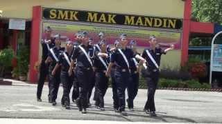 Mak Mandin Drill Team 2013