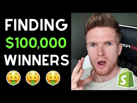 My SECRET Method For Finding $100,000 Winning Products | Shopify Dropshipping 2019 thumbnail