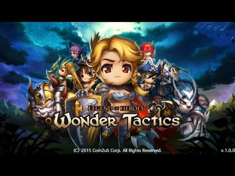 Wonder Tactics Gameplay IOS / Android