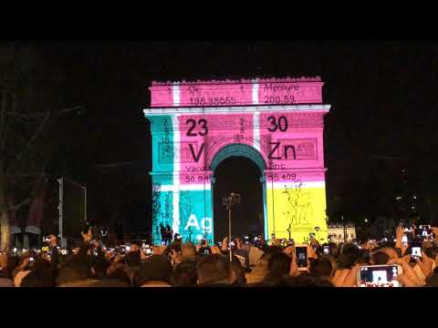 Paris NYE 2017-2018. Arc Du Triomphe.