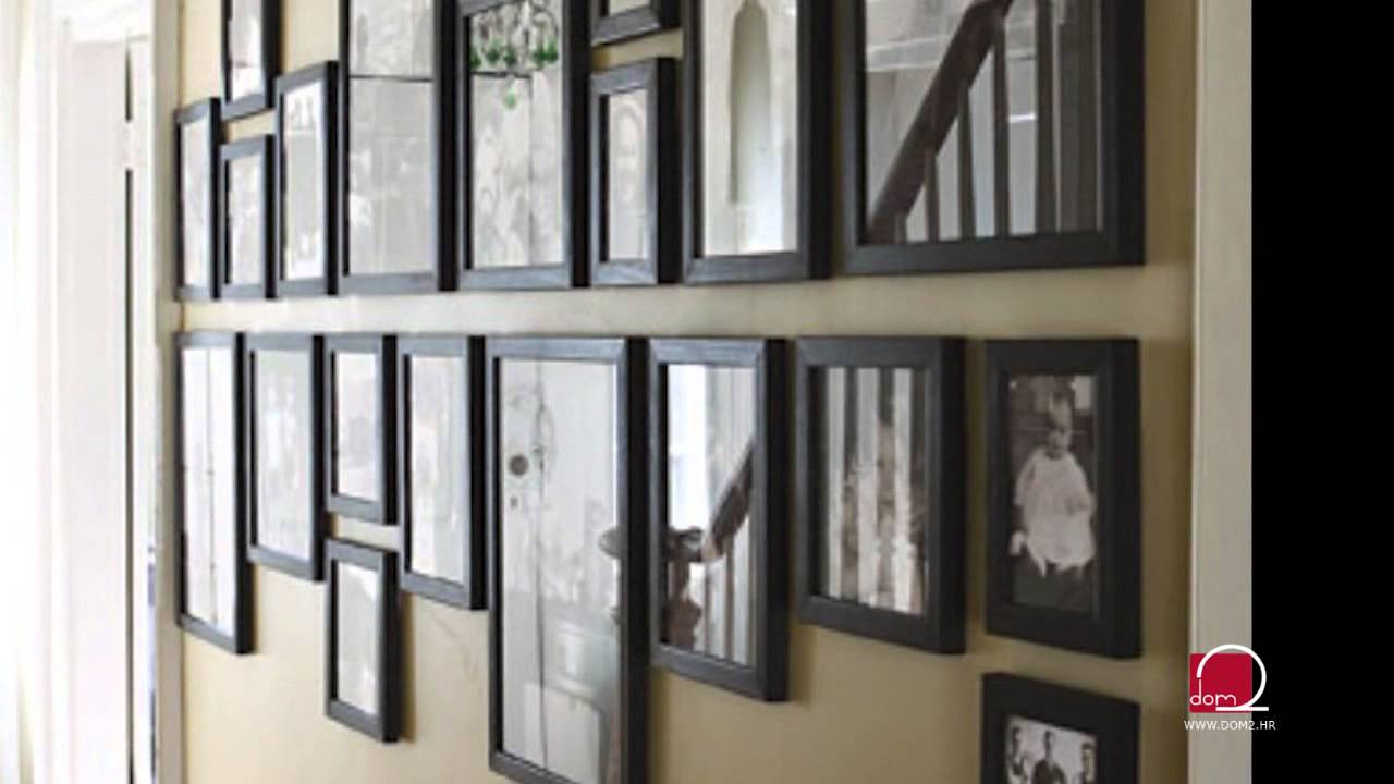 Kako rasporediti slike na zidu? - YouTube