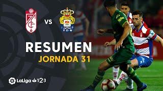Resumen de Granada CF vs UD Las Palmas (1-1)