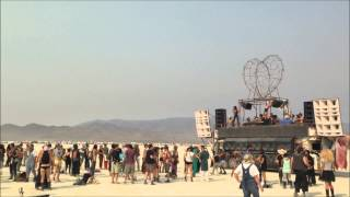 Burning Man 2013 - Robot Heart - Spiritual Sunrises Tuesday / Wednesday