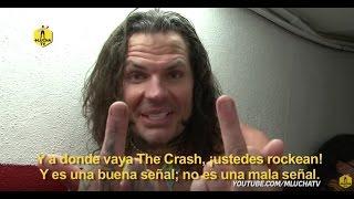 "Jeff Hardy: ""Hoy sentí la misma vibra que estar ante Undertaker"""