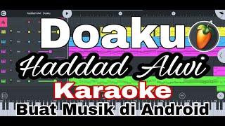 Haddad Alwi - Doaku ( Karaoke + Lirik )