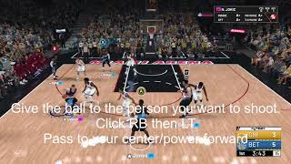 How to run HTBGaming 3 point play (Offball Deodarant)