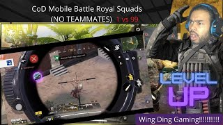 NEW Call of Duty Mobile Warzone No Squad Challenge (Epic Fails and funny moments)