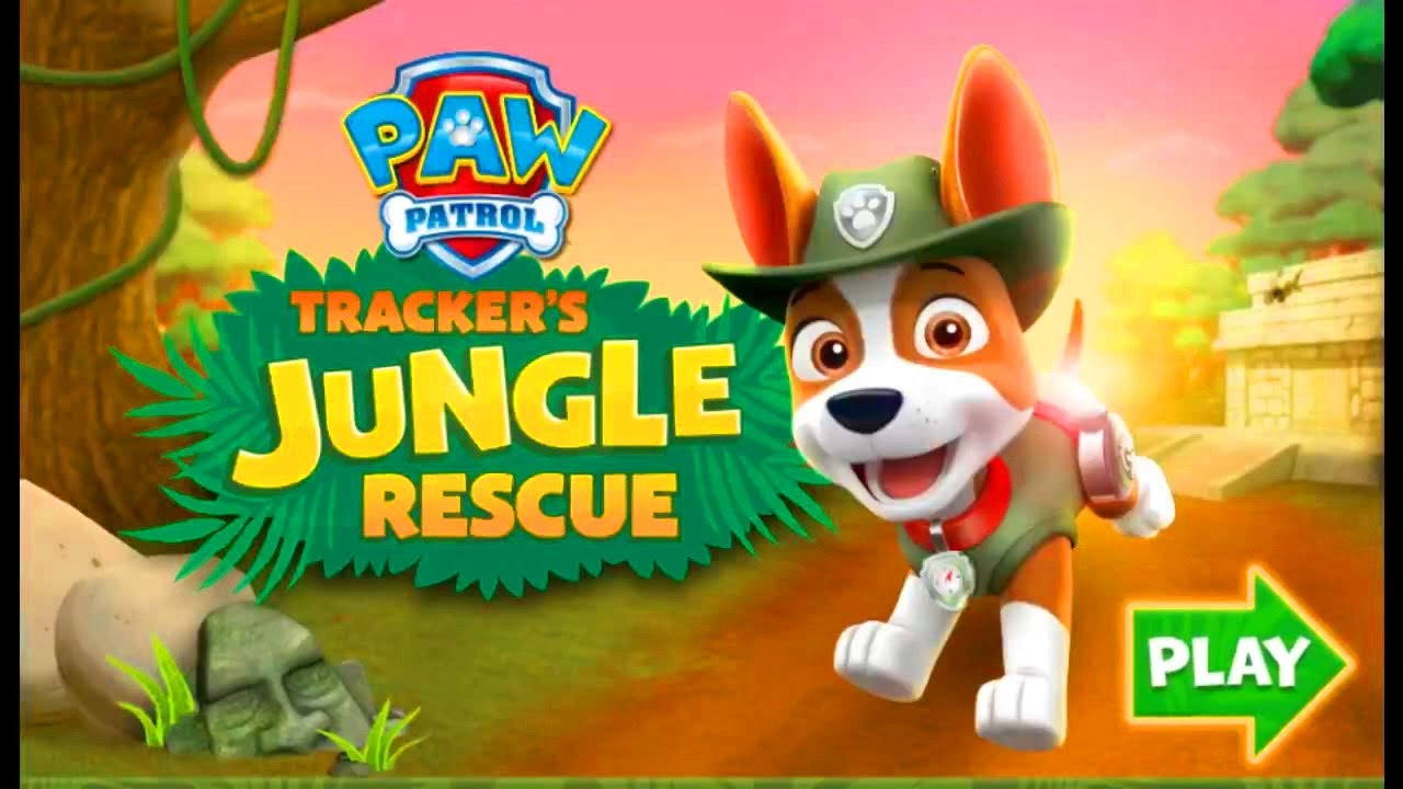 PAW Patrol Nick Jr Tracker Jungle Rescue Game - Fun New Game For Kids In English