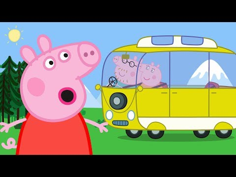 Peppa Pig English Episodes Camper Van! Camping Holiday Special 2018 | #PeppaPig