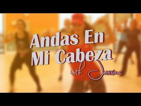 Andas En Mi Cabeza - Chino y Nacho -- Island Zumba with Jessica