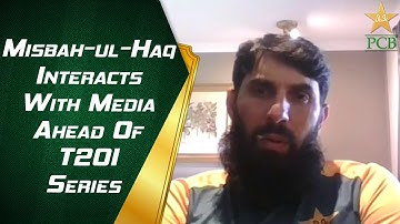 Misbah-ul-Haq Interacts With Media Ahead Of T20I Series | PCB | MA2E