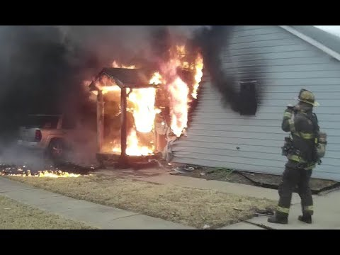 Firecam helmet cam firefighting clips #2