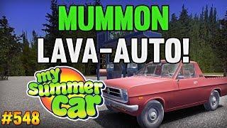 My Summer Car 548  Mummon Lava-auto Testissä D