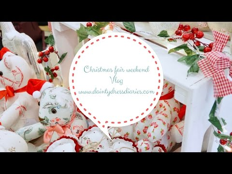 Christmas craft fair vlog, behind the scenes. What you need for your craft fair.