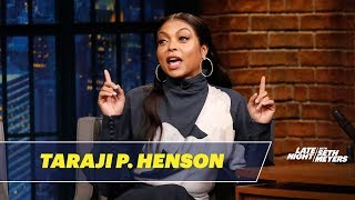 Taraji P. Henson Almost Skipped Her Benjamin Button Audition for a Yard Sale