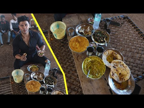 Organic Food At Roadside Dhaba / Desi Style