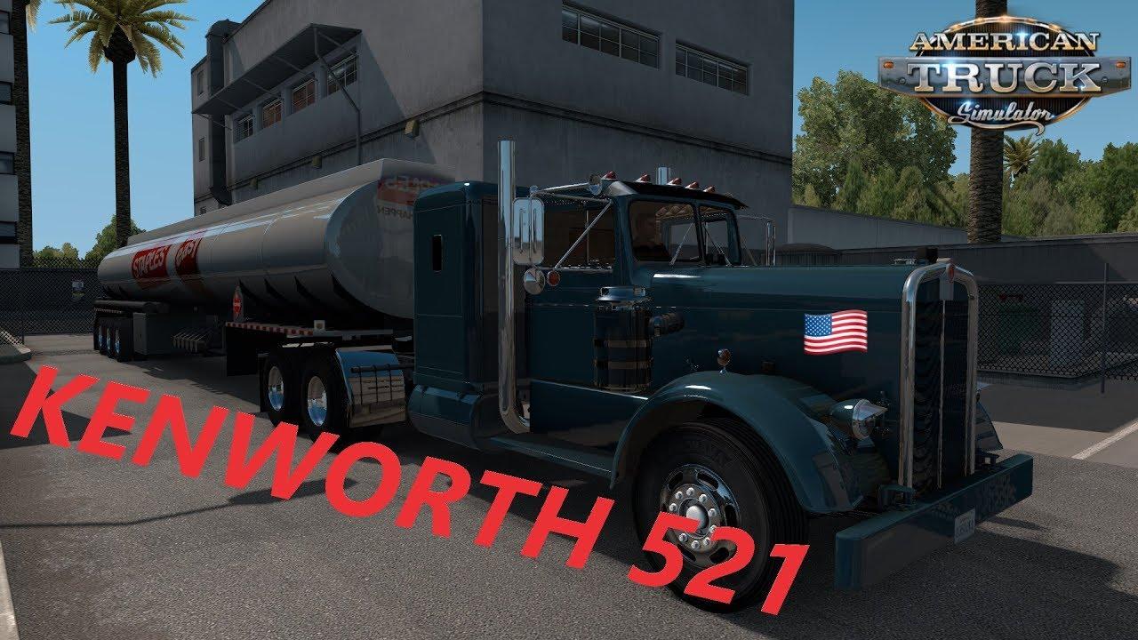 American Truck Simulator Kenworth 521 Teknos Ownable Tanker