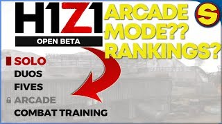 H1Z1 PS4: ARCADE MODE? NEW RANKING SYSTEM COMING SOON??
