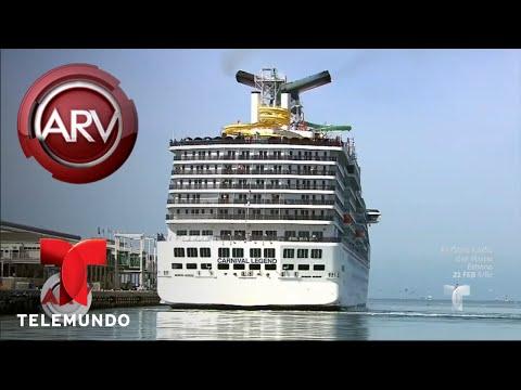 Pesadilla en medio del océano en un crucero | Al Rojo Vivo | Telemundo
