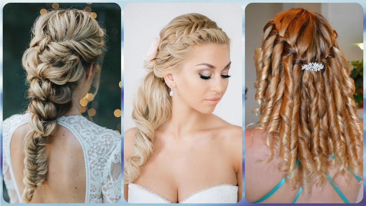 Halboffene Brautfrisuren Wedding Hairstyles Updos Elegant