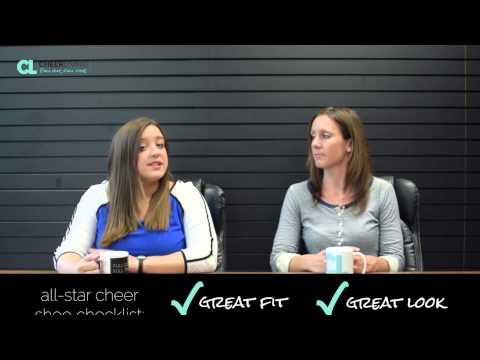 CheerLiving® Episode 18: Cheer Shoe Review