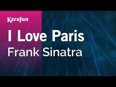 Karaoke I Love Paris - Frank Sinatra *