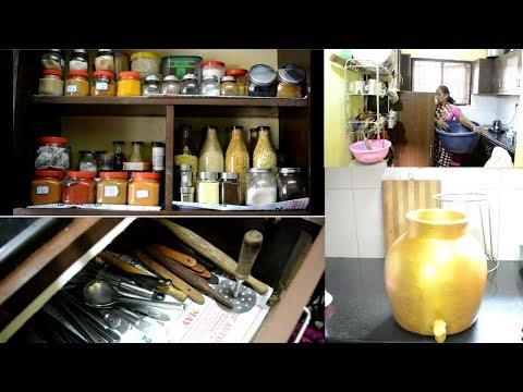 நம்-kichen-tour-மற்றும்-பராமரிப்பு-|-kichen-cleaning-and-maintanence-|-new-kichen-items-organizing