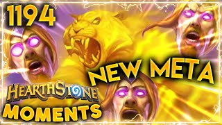 Spirit Of The Tiger + Vargoth = NEW META?! | Hearthstone Daily Moments Ep.1194