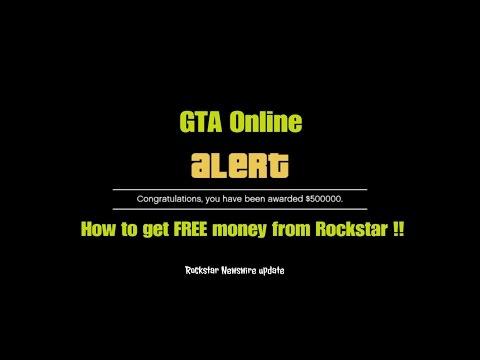 GTA Online How to get FREE money from Rockstar !! (Rockstar Newswire update)