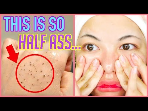 MELT BLACKHEADS WITH OIL?!?! i mean i guess...