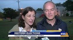 Scott Taylor and Elaine Luria vote