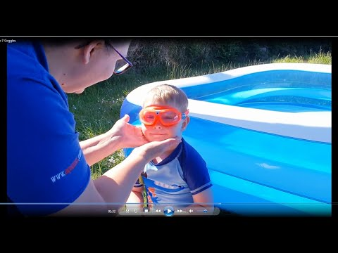 Aquatots Skills at Home | Aquatots at Home - Episode 7  Goggles for Toddlers