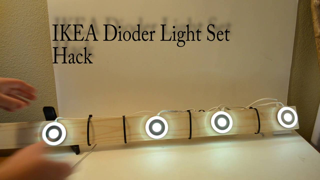 how to ikea dioder hack doovi. Black Bedroom Furniture Sets. Home Design Ideas